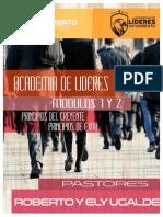 ACADEMIA DE LÍDERES MODULOS 1 Y 2