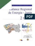 Balance Regional de Energía - Junín 2005
