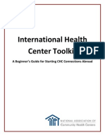 Peace Corps IHCT| International Heath Center Toolkit