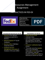Fedex HR practices