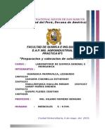 Cartula Del Informe 4 Quimica 2015