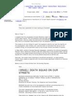2005 Mossad Death Squads
