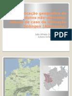 Indicação Geográfica de Produtos Não-Agrícolas