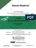 test kuder vocacional pdf