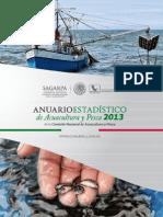 Anuario Estadistico de Acuacultura y Pesca 2013