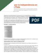 Un Debate Por La Independencia en El Río de La Plata