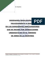 o Proc Sancionador Infracciones Urbanisticas 1997