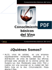 Conociemientos Basicos Del Vino