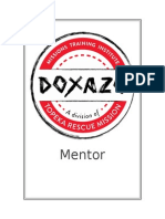 dmti mentorship packet