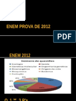 Enem Prova de 2012