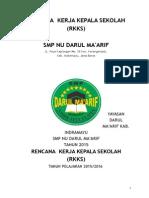 Program Kerja Kepala Sekolah DM 2015