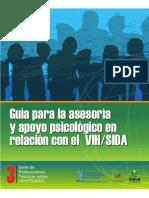 GUIA ASESORIA PSICOLOGICA VIH
