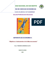 Objetivos e instrumentos de la macroeconomia.doc