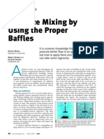 Optimize Mixing Using the Proper Baffles