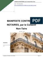 Manifeste Contre Les Notaires Par a3579