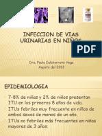 Infeccion de vias urinarias en pediatria. Baca Ortiz