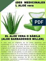 Propiedades Medicinales Del Aloe Vera