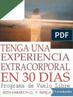 -Tenga Una Experiencia Extracorporal en 3 - Keith Harary