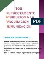 inmunizaciones  en niños menores de 1 año