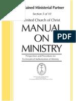 Ordained Ministerial Partner