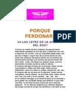 14-Leyes de La Amistad Del Ego