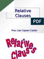 German - Relative Clauses