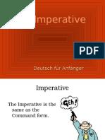 German - Imperative