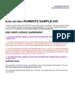 Sample Aid Manual