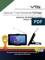 Manual Table TV