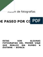DE PASEO POR COLOMBIA