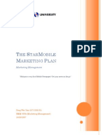 The Star Mobile Marketing Plan