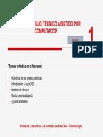 Curso de AutoCAD - Clase 01 Taller