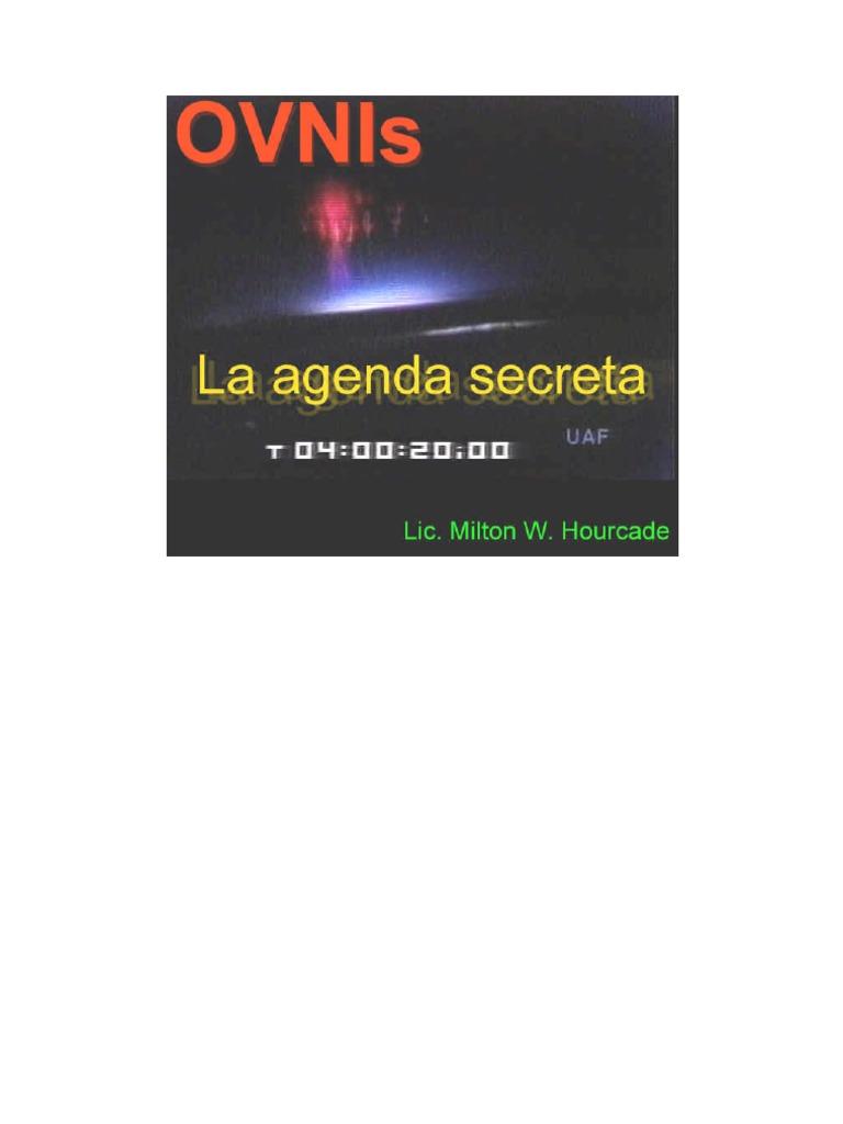 Ovnis La agenda secreta 0224b89f6373f