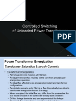 Controlled Switching of AC Power Transformer