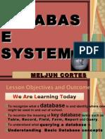 MELJUN Database Lecture Meljun
