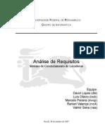 Analise de Requisitos (UML)
