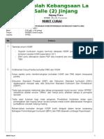 Minit Curai PK KSSR Tahun 6