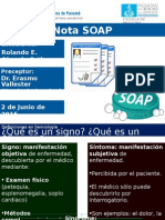 Nota SOAP