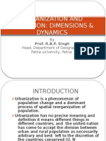 Urbanization And Migration