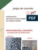 Patología de Concreto