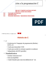 Introduccion a C - 1a Parte