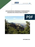 POEBC Resumen Ejecutivo y Modelo 270913