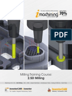 InventorCAM 2015 Milling Training Course 2.5D Milling