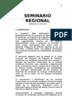 Seminario Regional Integrado