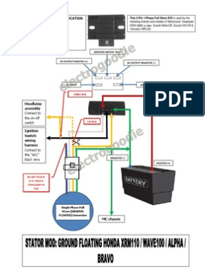 honda xrm110 stator to rr fullwave conversion 1971 chevelle dash wiring diagram honda wave dash wiring diagram #13