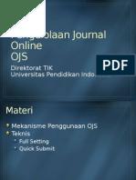 Pengelolaan Journal Online dengan OJS