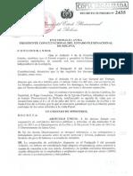 D.S. 2435 DE 1 DE JULIO DE 2015