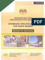 JKR Section 9 -  Concrete
