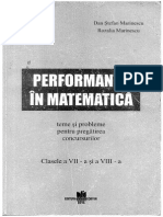 Performanta in Matematica