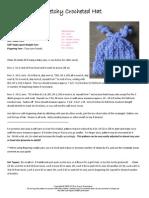 Crochet Stretchy Hat
